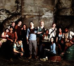 """""""The cast of The Maze Runner on set * """""""