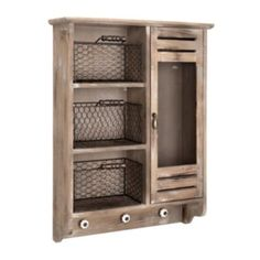 This cabinet has space for all sorts of things. Use it in your bathroom and fill it with towels, soap, and bottles of bubble bath. With its ideal combination of style and storage, it'll work almost anywhere in the house! #kirklands #CountryLivin