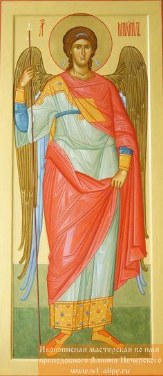Святой Архангел Михаил Byzantine Icons, Byzantine Art, Angel Warrior, Saint Michel, Religious Icons, Art Icon, Guardian Angels, Orthodox Icons, Angel Art