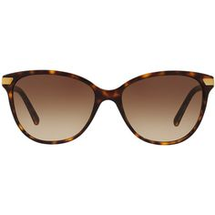 Burberry Brown Cat-Eye Sunglasses - be4216 ($230) ❤ liked on Polyvore featuring accessories, eyewear, sunglasses, brown sunglasses, burberry glasses, burberry eyewear, cat eye sunglasses and cateye sunglasses