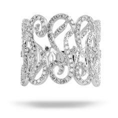 White gold diamond ring by Royal African Diamonds