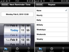 "TextMinder, an iPhone and iPod touch app that sends you mobile reminders (short messages) to help you keep track of things. $1.99. From webinar with Gayl Bowser March 2013: ""Adults and kids can create one-time or recurring text messages. Set the date and time so texts arrive exactly when needed. Setting up a repeating text message for taking medication, catching the school bus routes, or bedtime, can help kids follow routines independently."""