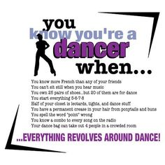 Here is a collection of great dance quotes and sayings. Many of them are motivational and express gratitude for the wonderful gift of dance. Dancer Quotes, Ballet Quotes, Dance Memes, Dance Humor, Funny Dance, Dance Photos, Dance Pictures, Dancer Problems, Hip Problems