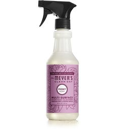 Mrs. Meyer's Clean Day Peony Multi-Surface Concentrate is a hard-working multi-purpose cleaner for use on all non-porous home surfaces.