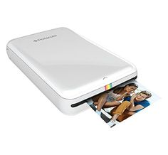 Polaroid ZIP Mobile Printer w/ZINK Zero Ink Printing Tech...