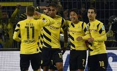 Dortmund MenangBorussia kini sudah keluar dari zona degradasi Liga Jerman usai mengalahkan Mainz dengan skor akhir 4-2 di Signal Iduna Park, Sabtu (14/2/2015) dinihari WIB.