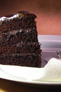 Dark Chocolate Cake Dessert #Recipe