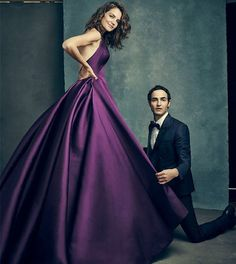 Zac Posen SS16 in The Hollywood Reporter #redcarpet25