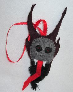 Krampus Christmas Tree Ornament Free by wennsweirdcreations