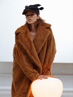 Max Mara coat. So cosy!