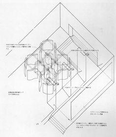 ELECTRIC LABYRINTH AT 14TH TRIENNALE / MILAN, 1968, Arata Isozaki