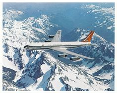 South African Airways ZS-CKC 'Capetown' Boeing some time between the of May and of July 1960 (pre-delivery), later renamed 'Johannesburg'. Jets, C130 Hercules, Cool Backdrops, Aircraft Images, Boeing 707, Air Photo, Travel Deals, Budget Travel, Commercial Aircraft