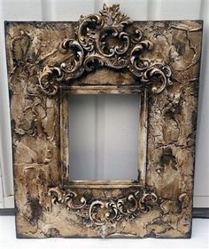 Michelle Butler Designs Divine Scroll 24x20 Heirloom Picture Frame Fits 8x10 Photo SHOP www.crownjewel.design