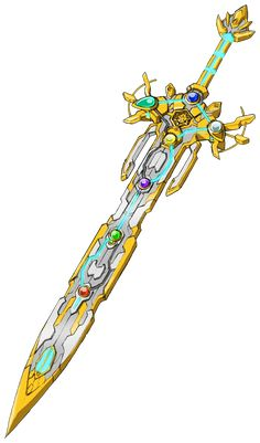 Fantasy Sword, Fantasy Weapons, Fantasy Warrior, Fantasy Art, Anime Weapons, Sci Fi Weapons, Weapon Concept Art, Armas Ninja, Cool Swords
