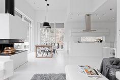 haaveet, kaikki turhat haaveet | Vaaleanpunainen hirsitalo | Idealista Decor, Scandinavian Home, Cozy House, Interior, New Homes, House, Interior Design Styles, Home Decor, House Interior