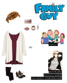"""Me in ""Family Guy"" (Church Outfit)"" by nerdbucket ❤ liked on Polyvore featuring Dorothy Perkins, Lime Crime, MAC Cosmetics, Maybelline, Journee Collection, H&M and Kay Jewelers"