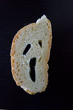 'The Scream' by Munch in a Tuscan bread slice