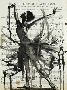 """Saatchi Art Artist: Sara Riches; Ink 2013 Drawing """"In Your Arms"""""""