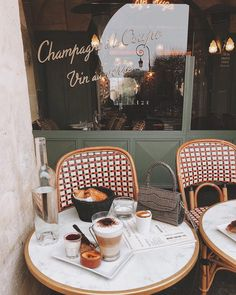 Cafe in Paris, France Coffee Break, Coffee Time, Coffee Coffee, Coffee Mornings, Photocollage, Oh The Places You'll Go, Beautiful Places, Beautiful Pictures, Sweet Home