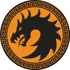 Ender's Game Dragon Army Uniform Patch