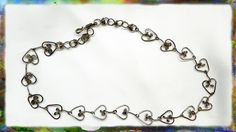 How to make a sterling silver wire necklace. In this video I demonstrate how to construct the beautiful Heart Link necklace, in easy to follow, step by step ...