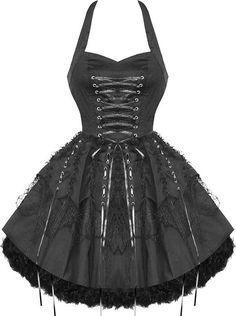 H&R London - Laces (Black) Dress - Buy Online Australia Beserk