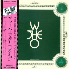 The Who Perfect Collections - Green Textured Japanese vinyl record set (Double Album) Vintage Concert Posters, Green Texture, Static Electricity, British Rock, Lp Cover, Vintage Vinyl Records, Feeling Special, Lp Vinyl, Lps