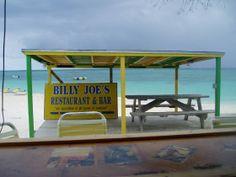 Billy Joes Beach Bar just next door to the resort!