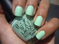OPI Gargantuan Green Grape - This is my favorite nail polish color. What's Yours?