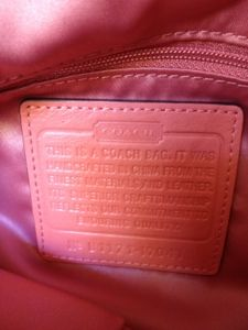 Guide To Dates Of Vintage Coach Bags There Is A Lot Misinformation Out