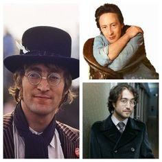 John Lennon Julian And Sean Men
