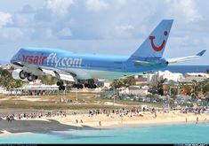 Corsairfly Boeing 747-422 	 Philipsburg / St. Maarten - Princess Juliana (SXM / TNCM) St. Maarten, March 2009