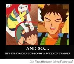 Makes sense- Naruto, pokemon