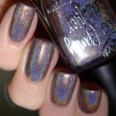 Burnt Lavender - from the It's Christmas Collection (swatched by Love Varnish)