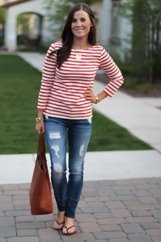 The Best Stripes + Spring Favorites | The Northeast Girl | Bloglovin'