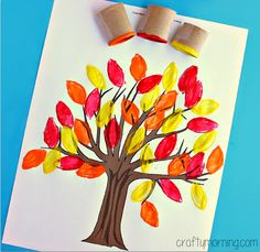 Here are a list of fun fall leaf crafts for kids to make! You will find many autumn and fall art projects that any child can do. Kids Crafts, Leaf Crafts, Crafts For Kids To Make, Tree Crafts, Toddler Crafts, Preschool Crafts, Party Crafts, Autumn Leaves Craft, Autumn Crafts