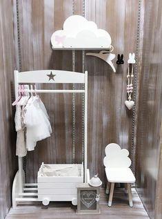 Kid's room wooden clothes hanger-HANDMADE - Mini Me Ltd