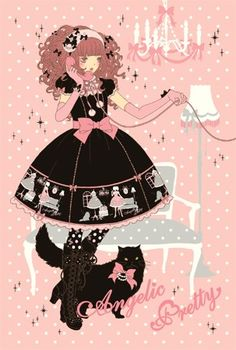lolita illustration - Google Search