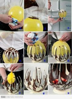 How to make a chocolate bowl by Fetus