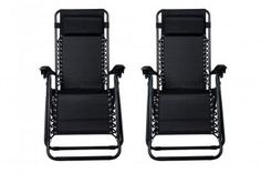 Zero Gravity Chairs Case Of 2 Black Lounge Patio Chairs Outdoor Yard Beach -- You can get more details by clicking on the image. (This is an affiliate link) 0 Garden Chairs, Patio Chairs, Cool Chairs, Garden Furniture, Outdoor Chairs, Lounge Chairs, Recliner Chairs, Furniture Chairs, Outdoor Lounge