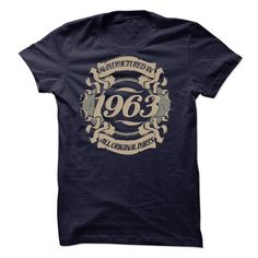 MANUFACTURED IN 1963 T-Shirts, Hoodies. Check Price Now ==►…