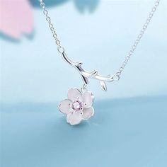 Collar Flor de Cerezo