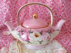 Vintage Porcelain Art: Tea Cup,Tea Pot & Tea Things Tuesday ...                                                                                                                                                                                 More