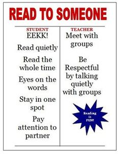 Here is a FREE Daily 5 Read to Someone I Chart that we use in our intermediate classroom.