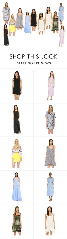 """""""fashion is more important"""" by denisee-denisee ❤ liked on Polyvore featuring Clayton, Frame, Wildfox, Chinti and Parker, Dsquared2, Caroline Constas, Lisa Marie Fernandez, Anna Sui, Louise Misha and vintage"""