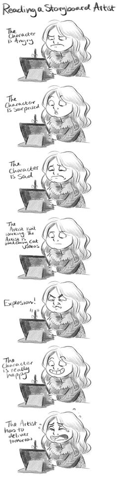 How to read a Storyboard artist. by StressedJenny.deviantart.com on @deviantART