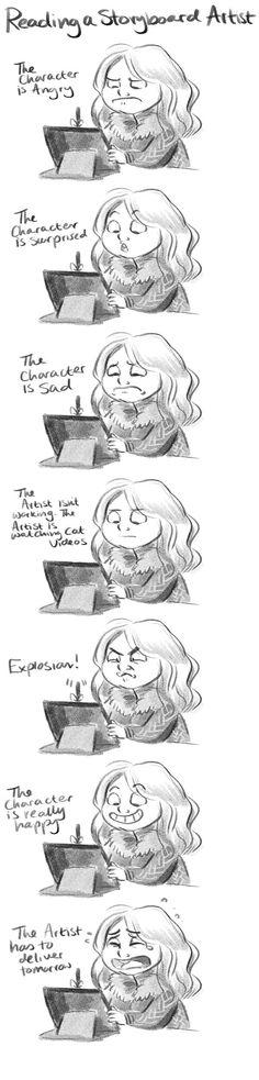How to read a Storyboard artist. by StressedJenny.dev... on @deviantART