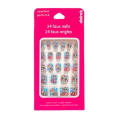 Gumball Scented Faux Nails