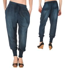 Fuga Vanilia Low Crotch Pants Original Denim