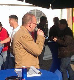 Conrad Twente Rally mogen presenteren in de DHL Arena  Schillemans Present | Advies | Presentatie | Coach | Uitvoering | www.schillemanspresent.nl #SchillemansPresent